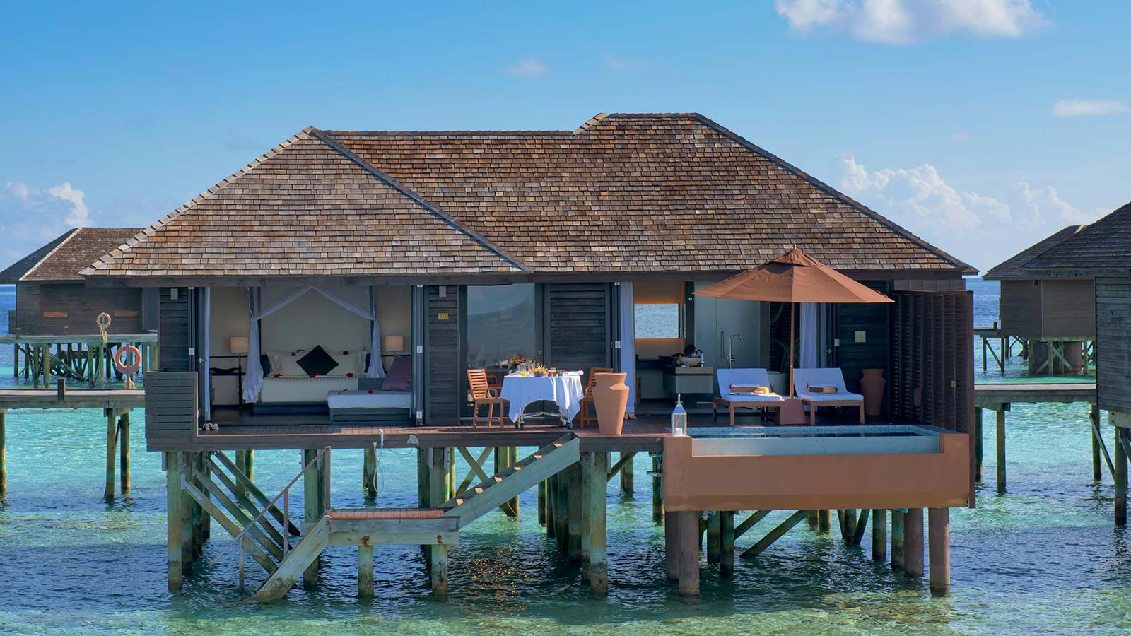 Deluxe Water Villas Lily Beach Resort Amp Spa Lily Beach