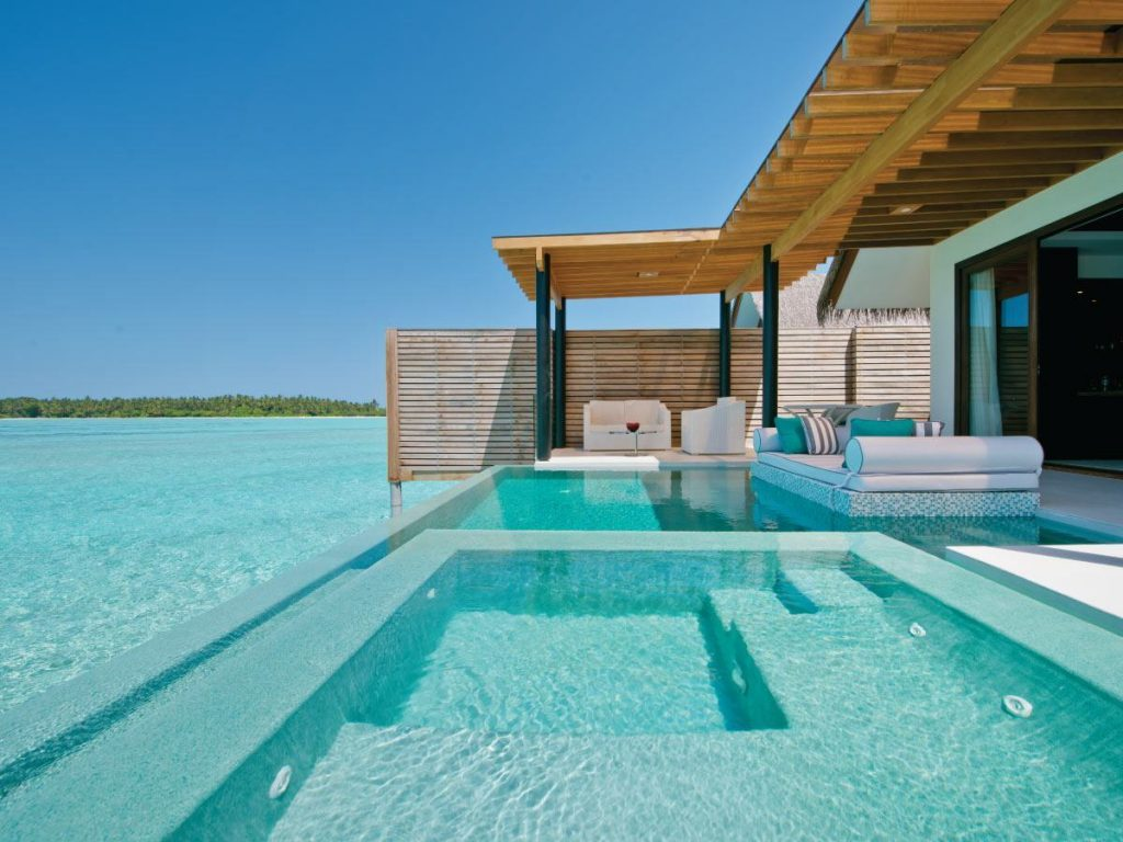 Maldives Over Water Villa With Pool